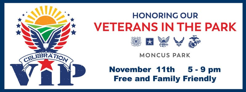 "Moncus Park hosting ""Veterans In The Park"" On Veterans' Day"