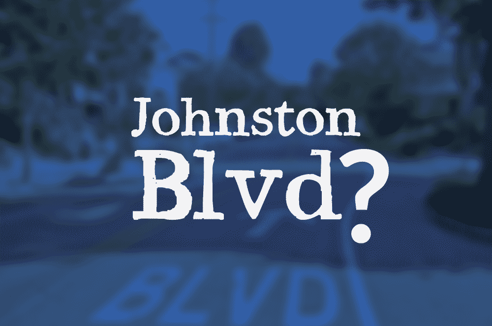 Section of Johnston St. could possibly become boulevard