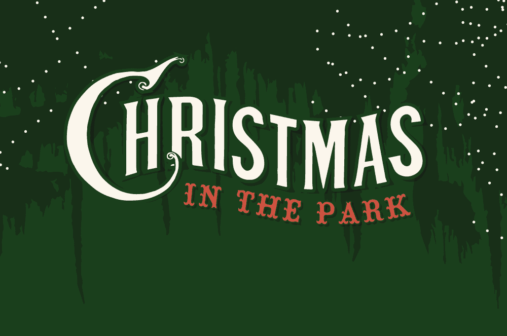 'Christmas in the Park' illuminated Moncus Park