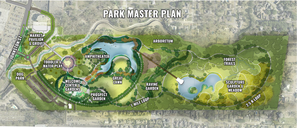 Phase 1 construction set to begin at Moncus Park