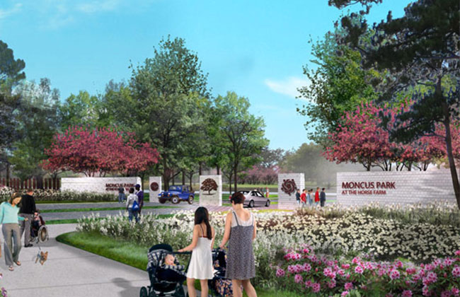 The former Horse Farm, Moncus Park moves forward with groundbreaking