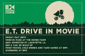 E.T. coming to Lafayette May 26